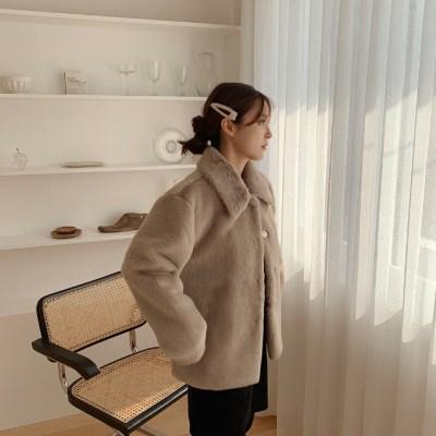 라미밍크 jacket (3color)