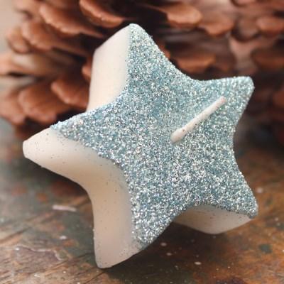 실루엣 별 크리스마스캔들 양초 6개입_(103597573)