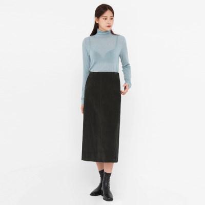 ondo tencel wool high neck T_(1390385)