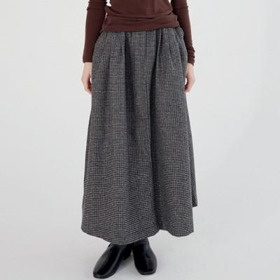 basket check flair skirts (2colors)_(1390522)