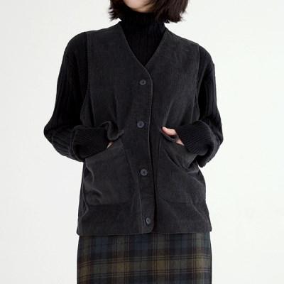 corduroy boy vest (navy)_(1390519)