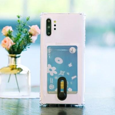 LG V50 (LG V500) Poner 카드 젤리 케이스_(2421150)