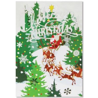 홀마크 크리스마스 입체카드-KXP2001