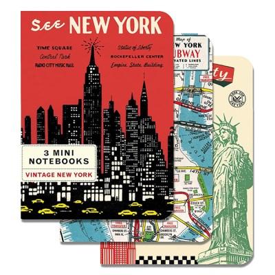 카발리니 미니 노트북 - 빈티지 뉴욕
