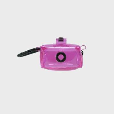 푼푼 투명 배변봉투 파우치 (핑크)