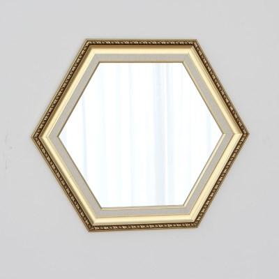 육각 594골드 벽거울