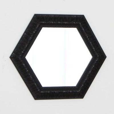 육각 582블랙 벽거울