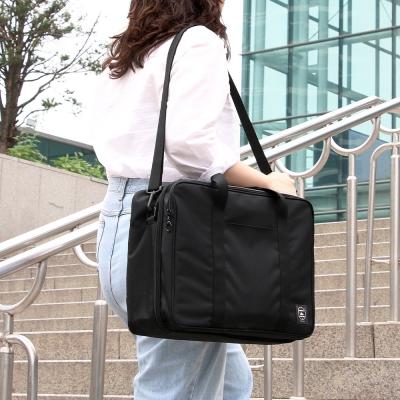 코니테일 듀얼 트렁크백 - 블랙 (가벼운 기저귀가방 숄_(1786416)