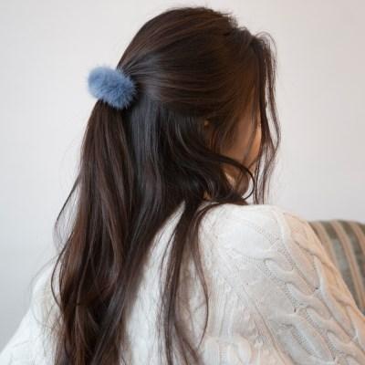 mink hair pin (7colors)