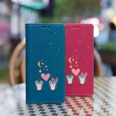 갤럭시A7 2018 (A750) Ventosa-Owls 지갑 다이어리 케이스
