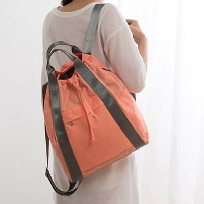 여행용 백팩(코랄) / 여자 여행 가벼운 방수 백팩 가방