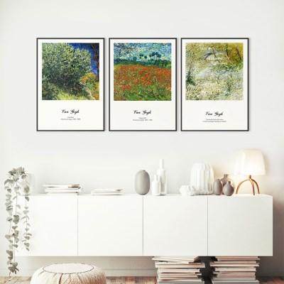 빈센트 반 고흐 인기 작품 20종 명화 인테리어 포스터