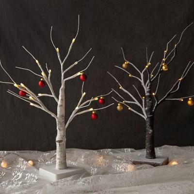 자작나무 LED 크리스마스 트리