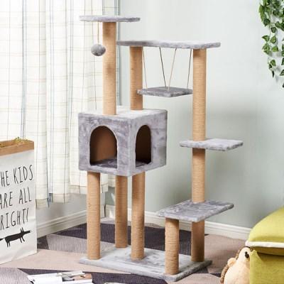 캣타워 고양이집 하우스 캣트리 DIY 5단_(2442686)