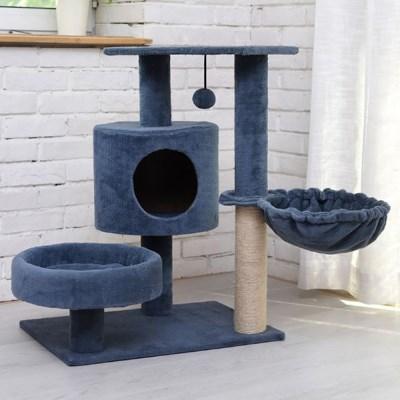 캣타워 고양이집 하우스 캣트리 DIY 3-4단_(2442673)