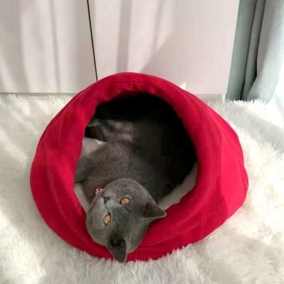 고양이집 하우스 쿠션 방석 CT-7788 소라_(2442522)