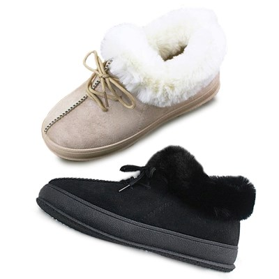 kami et muse Fur timming short ankle boots_KM19w169