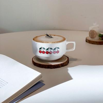 체리 커피잔