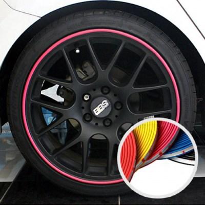 자동차 휠 흠집 보호 휠 가드 프로텍터_(140446)