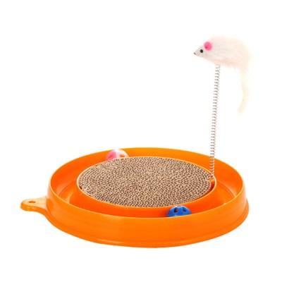고양이 용품 장난감 캣볼 사냥 공 쥐 CT-7770 트랙_(2443119)