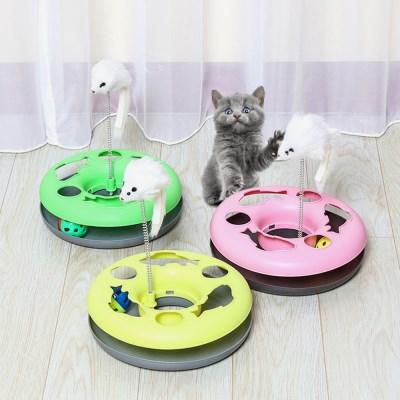 고양이 용품 장난감 캣볼 사냥 공 쥐 CT-7769 캐츠_(2443113)