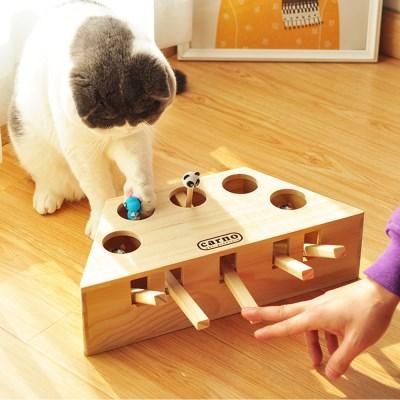 고양이 용품 장난감 냥펀치 사냥 CT-7777 버튼_(2443107)