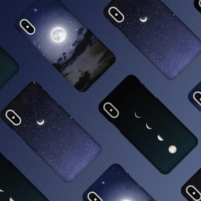 나인어클락 문 달 슬림 하드 케이스 아이폰 시리즈