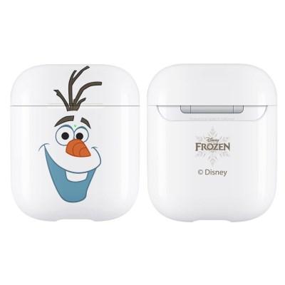디즈니 겨울왕국파스텔 에어팟 하드케이스 올라프화이트