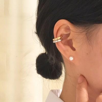 [이어커프 귀걸이] 트리커프