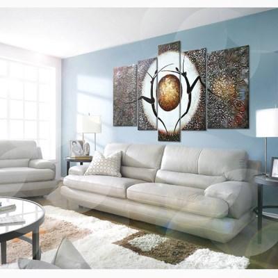 헤론티아 유화 그림액자 NY-4321 / 인테리어 액자 벽걸이액자 집들이