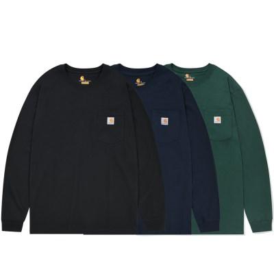 칼하트 정품 K126 워크웨어 포켓 긴팔티셔츠