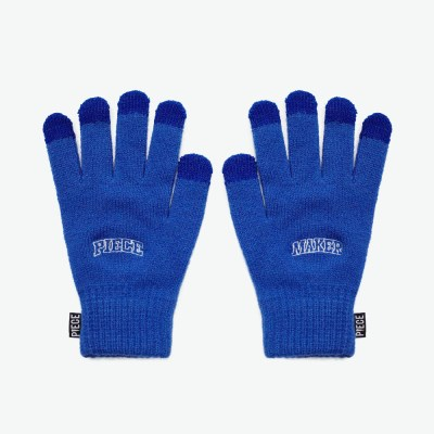 ARCH LOGO SMART GLOVES (BLUE)_(401041705)