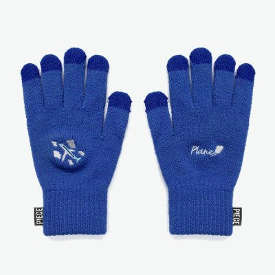 PLANE SMART GLOVES (BLUE)_(401041704)