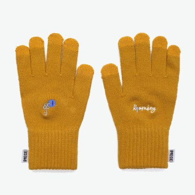 ROOMKEY SMART GLOVES (MUSTARD)_(401041695)