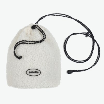 BOA FLEECE BUCKET BAG (IVORY)_(401042722)