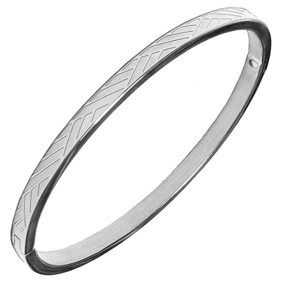[MARK-4] SLIM BANGLE (LACETTICE)