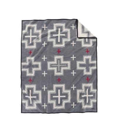 [펜들턴] 기모처리 안된 자카드 블랭킷 로브 담요 산미겔