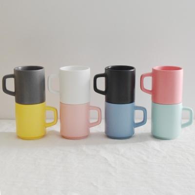그랑쉘 무광 도자기 머그 330ml (8 color) 홈카페 머그컵