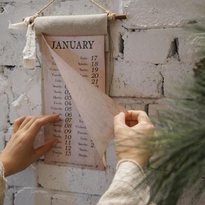 잼머 2020 린넨달력 : JAMMER linen calendar
