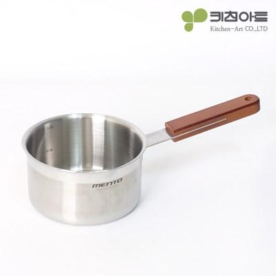 키친아트 멘토 인덕션냄비 14cm 편수 이유식냄비