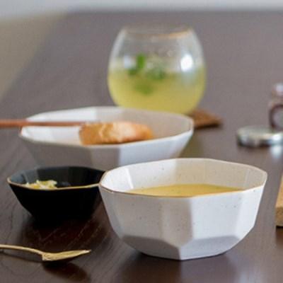 다이아 대접 (2컬러) / 국공기 도자기 국그릇