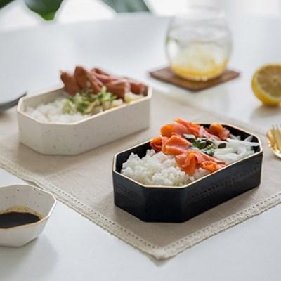 다이아 도시락볼 (2컬러) / 카페 디저트 브런치 플레이팅 접시 그릇
