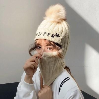 스피니 극한추위 방울 모자 니트모자_(2295050)
