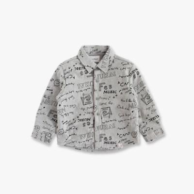 기모 안감 아동 셔츠 IB4WS082B