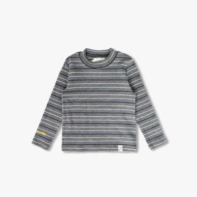 스트라잎 라운드넥 아동 티셔츠 IB4CL069U