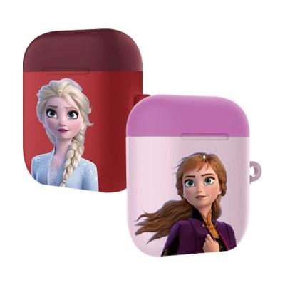 디즈니 겨울왕국2 파스텔 에어팟케이스