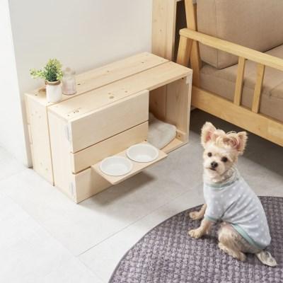 원목 반려동물집 강아지 하우스 고양이침대