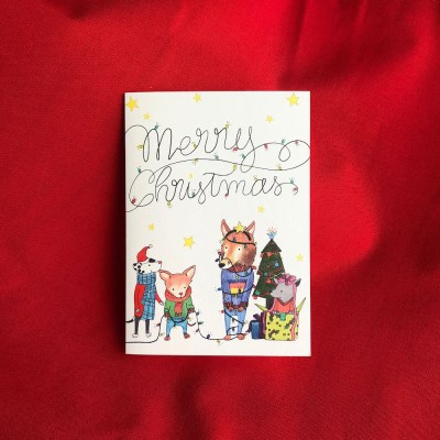 멍뭉이 크리스마스 카드