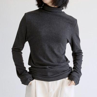 tencel warmer polo-neck tee (5colors)_(1402773)