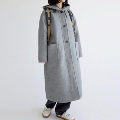 snug hoodie long coat (gray)_(1404377)